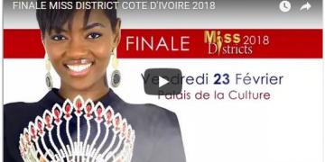 Finale Miss District Côte d'Ivoire 2018