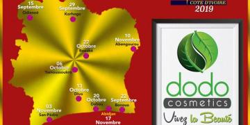 DODO-COSMETICS SPONSOROFFICIEL DE MISS-DISTRICTS 2018-2019